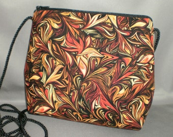 Sling Bag - Small Purse - Evening Bag - Party Purse - Special Occasion - Autumn - Firestorm