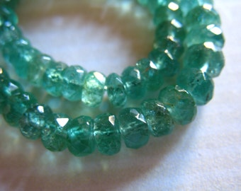 Shop Sale.. 5 10 25 50 pcs, 3-3.5 mm EMERALD Beads, Luxe AAA, ZAMBIAN emeralds undyed, may birthstone brides bridal holidays true 35