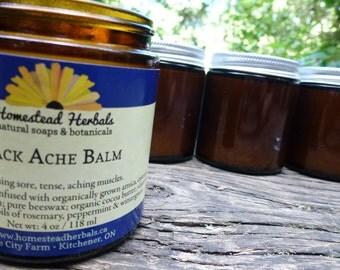 Back Ache Balm (organic ingredients)