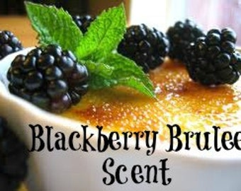 BLACKBERRY BRULEE Scented Soy Wax Melts - Soy Wax Tart - Wickless Candle - Hand Made Candle - Air Freshener - Highly Scented - Hand Poured