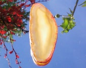 Agate Golden Yellow Flame