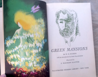 Green Mansions by by W.H. Hudson 1944 with slipcase