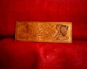 """Handmade Leather """"Baffalo"""" Wallet in Antique Brown"""