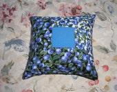 Maine Blueberry Balsam Fir Patchwork Pillow    Heavenly Scent