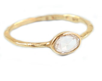 Diamond Ring,  Engagement Diamond  Ring, Rose Cut Diamond Ring, Engagement Diamond Ring, Promise Ring,Tula Jewelry.