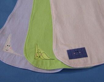 Statistical Distribution Burp Cloth