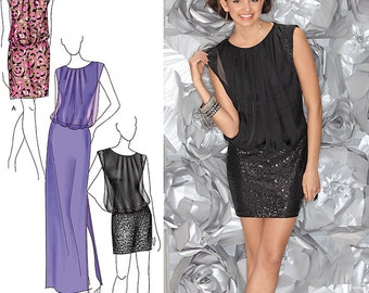 Special Occasion Dresses - Simplicity 1658 - Designer Sewing Pattern, Sizes 14, 16, 18, 20, and 22