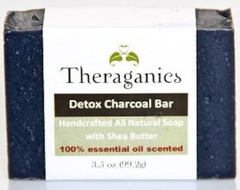 charcoal detox soap set 6 bars