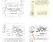 Printable Book of shadows spell artworks Wicca Magic