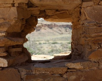 Chaco, Chaco Canyon, Chaco Canyon National Park, National Park, Fine Art Photography, Window, Ancient, Ancient civilization, Historical