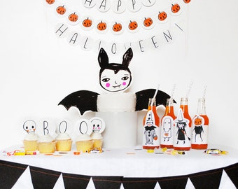 Halloween Party Pack Printables
