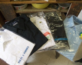 SALE - Vintage Men's NOS Shirts Mostly In Original Packages from Rustysecrets
