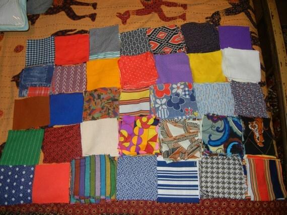 vintage quilt squares giant lot of 240 squares patchwork quilt