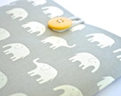 Microsoft Surface Book, Surface Pro 4, Surface Pro 3, MS Surface Sleeve Case Padded Tablet - Elephants