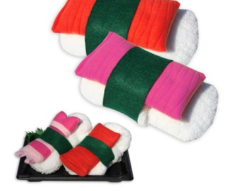 Sushi Slippers® - AND - Sushi Baby Booties®  SET