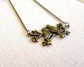 birds on a branch necklace - love birds - bird necklace - couple necklace - love necklace - closing shop, please min. order 10 usd