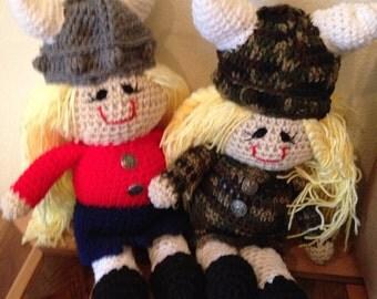 Valkyrie Viking Rag Doll