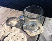 Nautical Decor - 6 hemp coasters - great hostess gift, wedding gift, birthday gift, anniversary gift