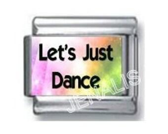 Let's Just Dance Italian Charm for your Italian Charm Bracelet