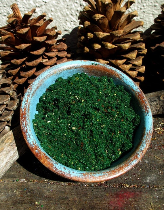 Rita's Gypsy Gold Hoodoo Resin Powder Incense - Draw in Money from Unexpected Places
