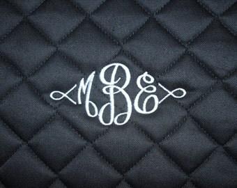 English All Purpose Saddle Pad - Embroidered Monogram