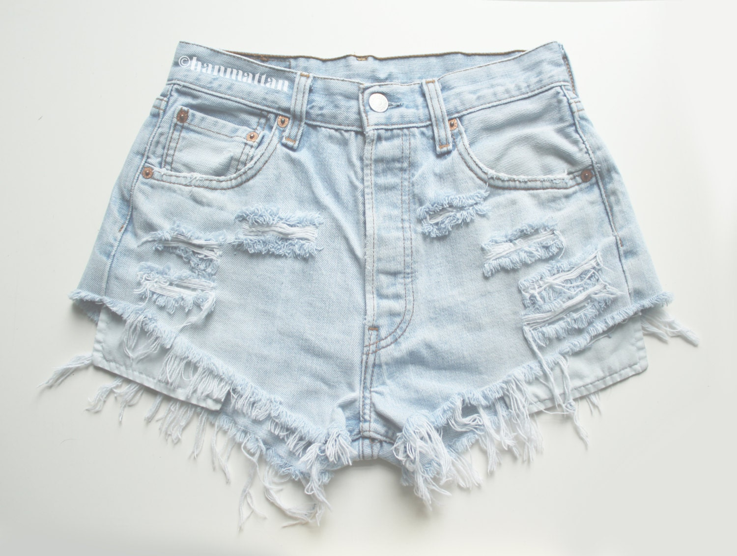 ALL SIZES PLAINO2 Vintage high-waisted denim