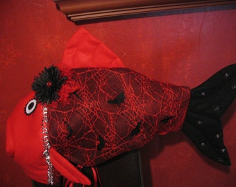 Goth fish costume-one size fits all