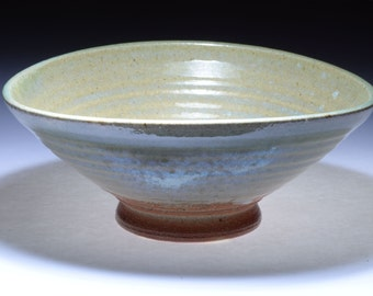 Soda fired ceramic modern 'Ido' matcha chawan green teabowl CL106 by Cory Lum