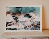 SALE: The Sea A3 Print with Marks