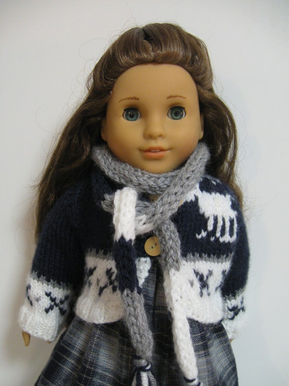 American Girl Doll Clothes Benetton Sweater by 123MULBERRYSTREET