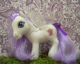 Custom My Little Pony - Purple Fairy