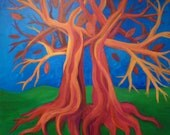 Intertwined- Original Acrylic Love Marraige Wedding Abstract Painting PRINT