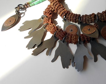 Tribal Roots Two Strand Necklace