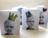 Ghost Baby Series Cards (Semi Gloss)