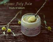 Organic Baby Balm Vegan and 100 Natural from Touch of Nature series.