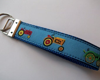 Tractor Wristlet Style Key Fob