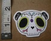 Sugar skull panda sticker