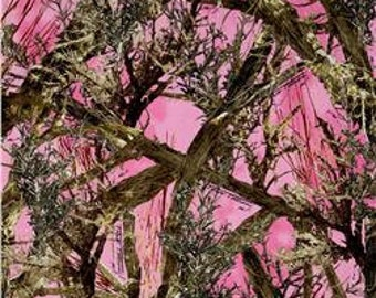 5 Pc Pink Camo Minky Silk Mossy Oak Camo Bedding Free