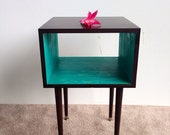 The Side Table... MCM Mid Century Modern furniture end table bedside table