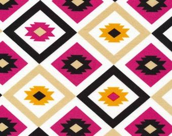 SALE - Cloud 9 Fabrics - Mixteca by Eleanor Grosch - Organic Textila in Rosa
