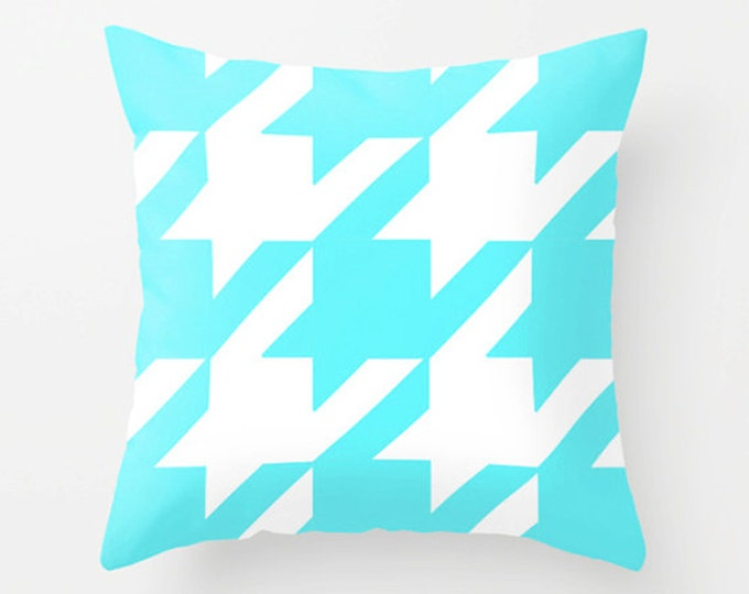 Exclusive Houndstooth Print Throw Pillow Covers - Decor Pillows - Modern Throw Pillows - Sofa Pillows - Decorative Pillow Covers - Style
