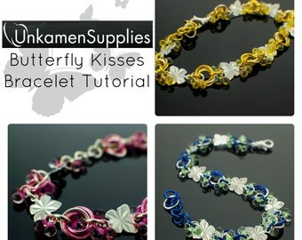 Butterfly Kisses Bracelet Tutorial - Fast and Easy - Expert PDF