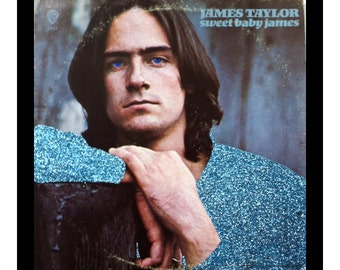 Glittered James Taylor Sweet Baby James Album