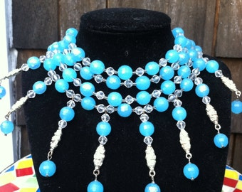 Eva Mendes Golden Globe Award inspired necklace