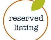Reserved Listing for MEAndSisi