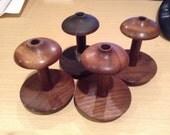 RESERVED: Custom Walnut Spinning Wheel Bobbins