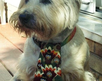 Thanksgiving Turkey Neck Tie for Dogs