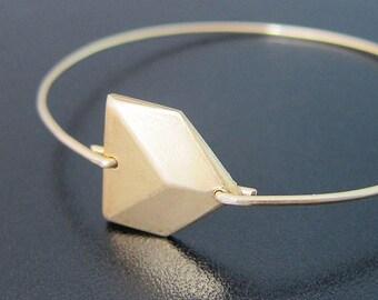 Chevron Bracelet, Geometric Jewelry, Minimalist Jewelry, Geometric Bracelet, 3D Jewelry, Chevron Jewelry, Gold Art Deco Bracelet, Jewlery