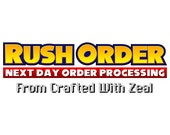 Rush Order Fee - Order processed and shipped within 24 hours
