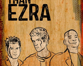Better Than Ezra Poster - Limited Edition of 100 - 13x19 Inches